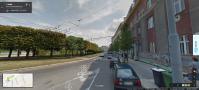 Slovanské náměstí, zdroj: maps.google.com