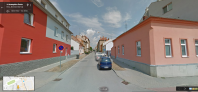 Slovinská, zdroj: maps.google.com